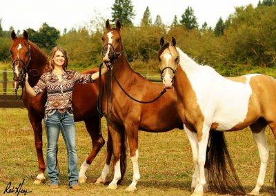 Audrey and Geldings